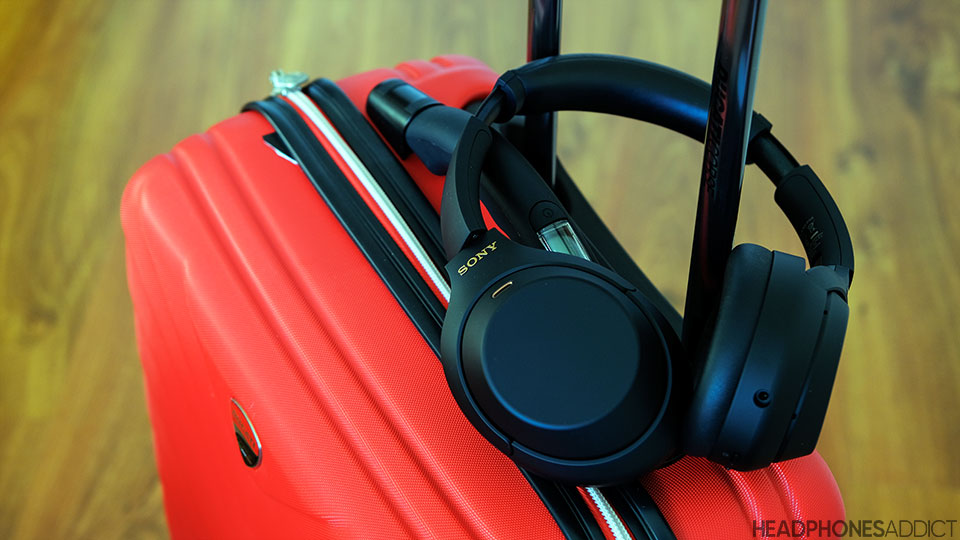 Sony WH-1000XM4 travel