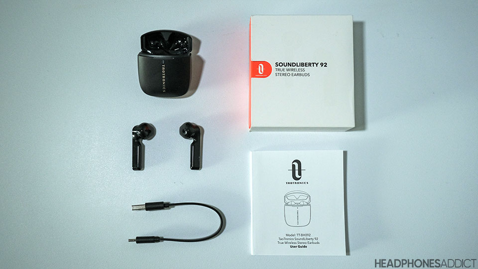 TaoTronics SoundLiberty 92 accessories