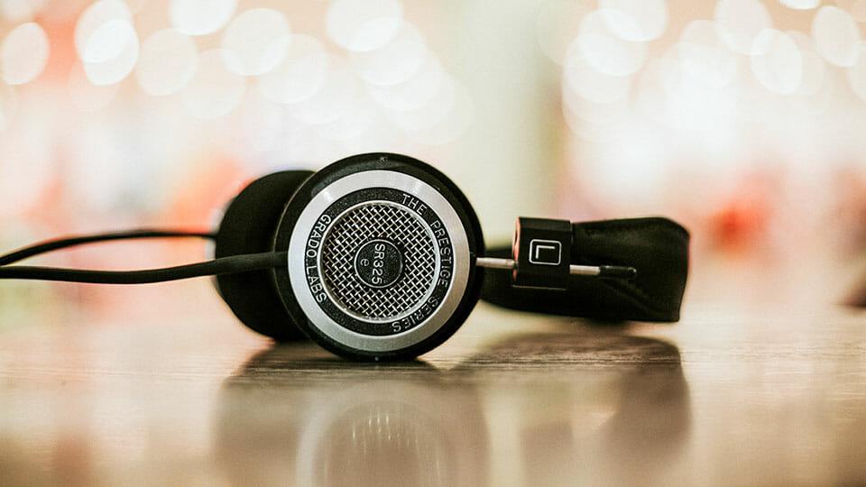Grado SR325 headphones
