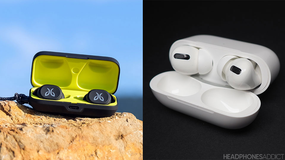 Jaybird Vista vs. Apple AirPods Pro closer look
