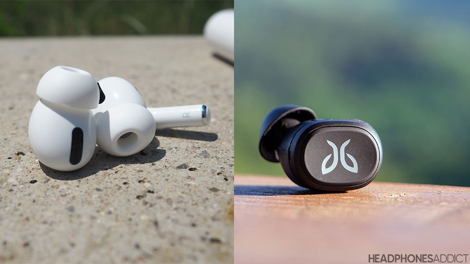 Jaybird Vista vs. Apple AirPods Pro earbuds