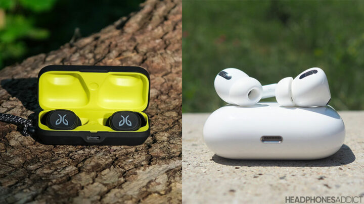 Jaybird Vista vs. Apple AirPods Pro true wireless earbuds