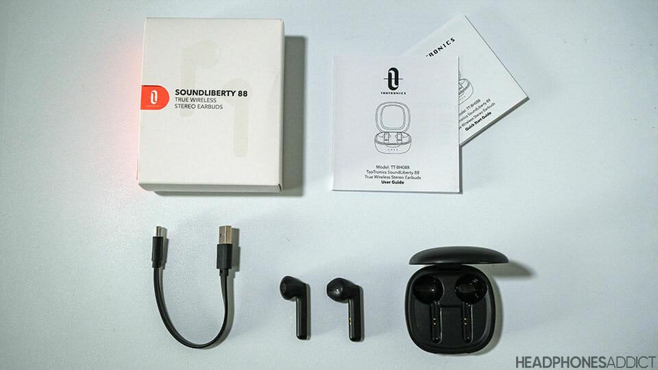 Taotronics Soundliberty 88 accessories