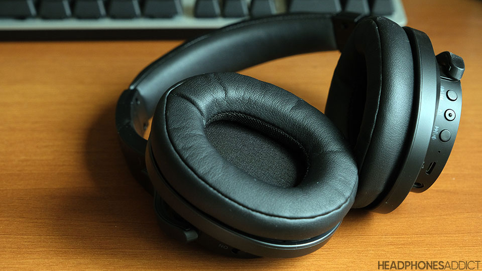 Leather ear pads