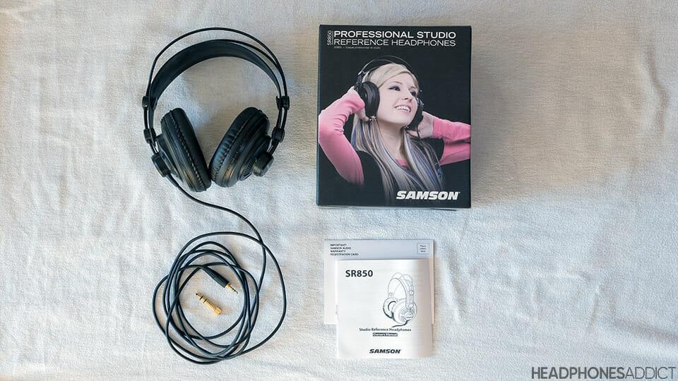 Samson SR850 accessories