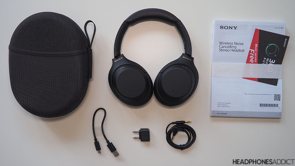 Sony WH-1000XM4 unboxed