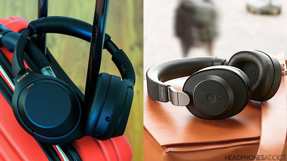 Sony WH-1000XM4 vs. Jabra Elite 85h headphones