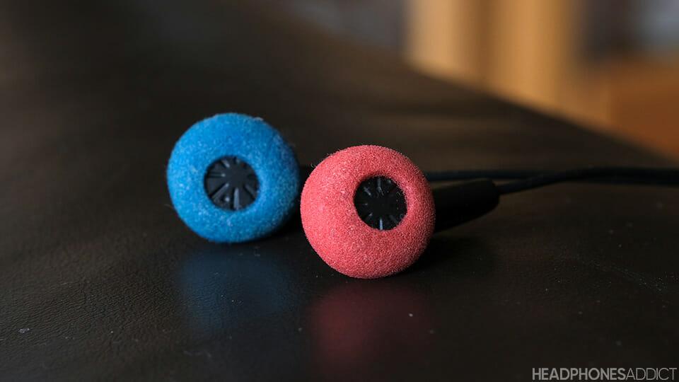Foam covers for earphones