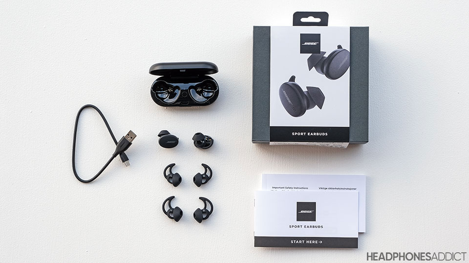 Bose Sport Earbuds accessories