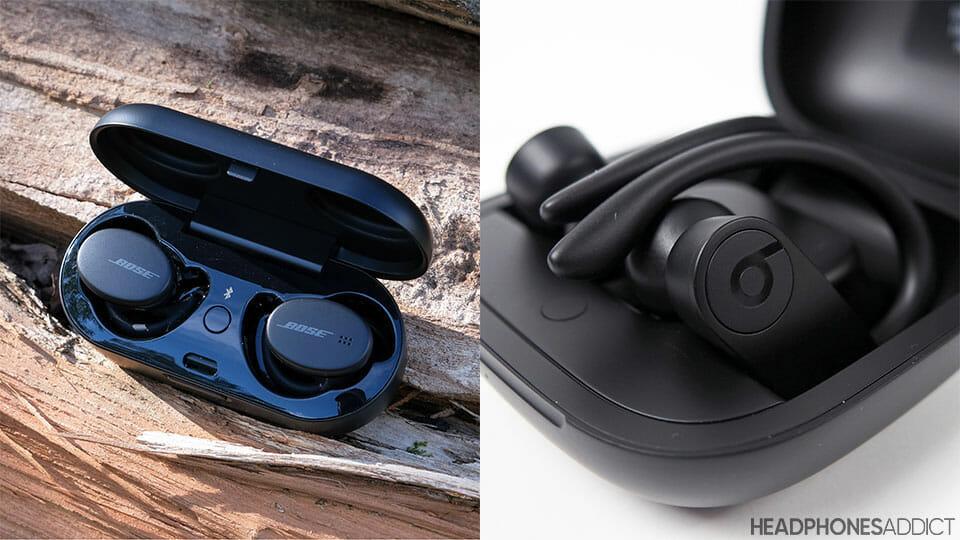 Bose Sport Earbuds vs. Beats PowerBeats Pro