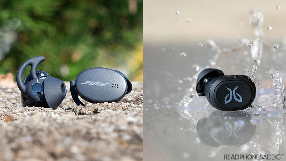 Bose Sport Earbuds vs. Jaybird Vista toughness