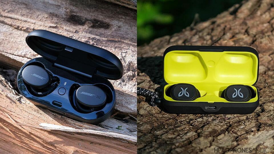 Bose Sport Earbuds vs. Jaybird Vista