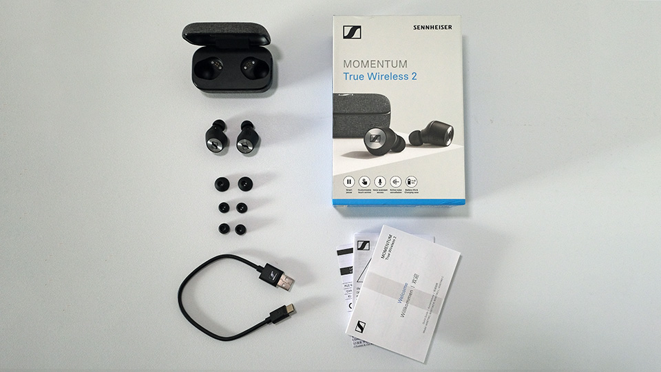 Sennheiser Momentum True Wireless 2 accessories