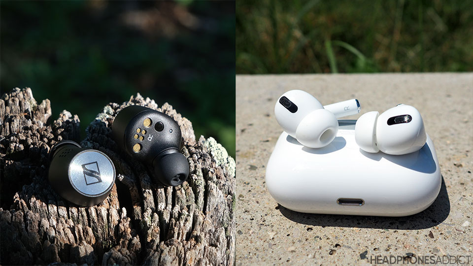 Sennheiser Momentum True Wireless 2 vs. Apple AirPods Pro earbuds