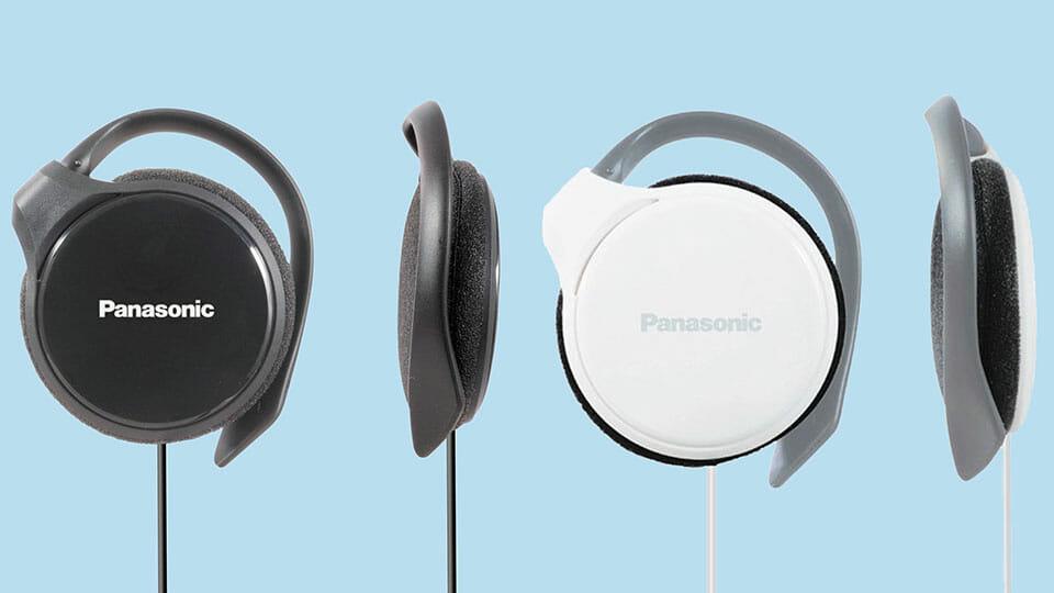 Panasonic RP-HS46E-K wired on-ear headphones