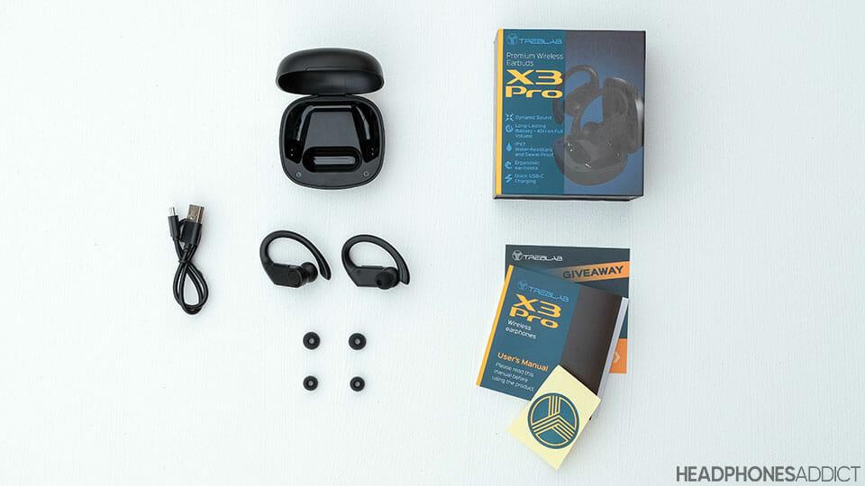 Treblab X3 Pro accessories