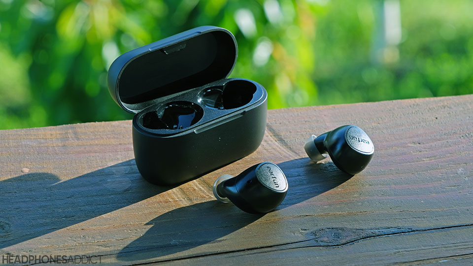 EarFun Free 2 earbuds with charging case